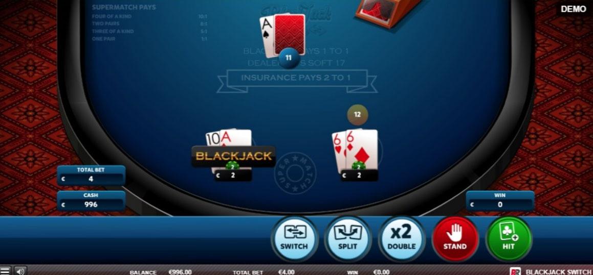 التبديل لعبة ورق